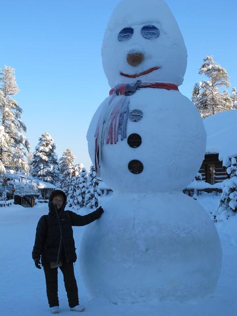 Huge Snowman!