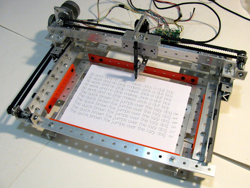 Contraptor - XY plotter   by albanetc
