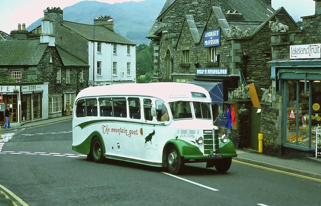 Li'le Billy, The Mountain Goat Bus, Ambleside (June 1976)