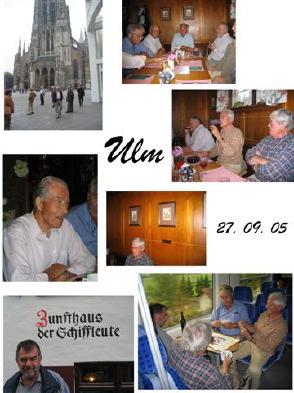 DB Ausflug nach Ulm 2005
