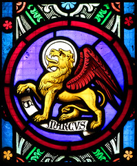 Winged Lion of St Mark, 1853
