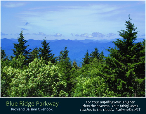 blue ridge parkway national park highway mountains trees forest woods green clouds sky appalachian appalachians appalachia north carolina nc nature us usa united states america scenic outdoor scenery richland balsam overlook great balsams