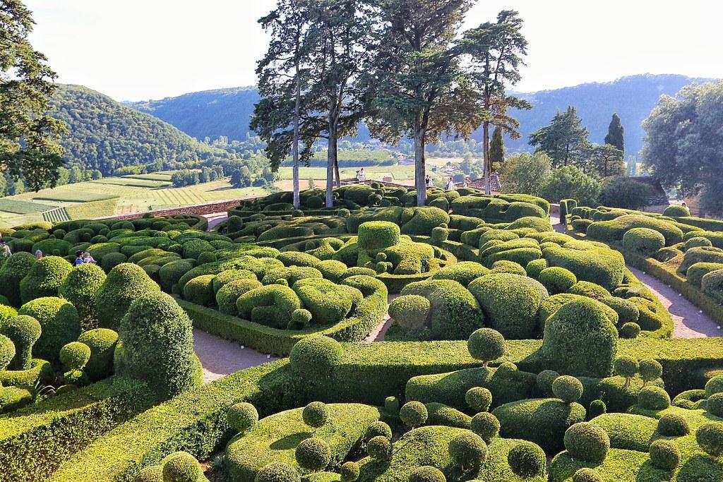 Dordogne Les Jardin De Marquayssac Beautiful Gardens In Do