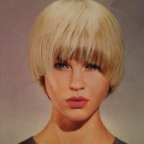 Classic Bowl Cut Hair By Jens Hagenmuller For Pivot Poin Flickr
