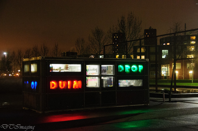 Colorful Building in Rotterdam