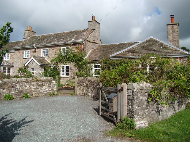 The old forge, very close to St. Mary's, Brilley.