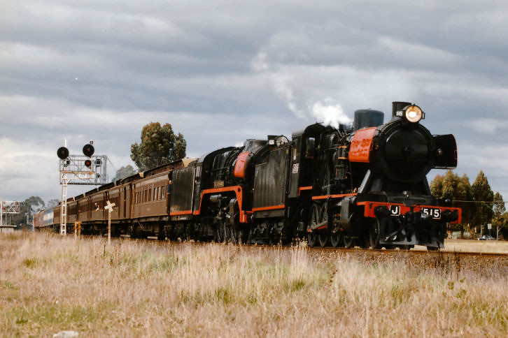 J515 R707 8191 Down Steam Special Melton 24 08 1996 by Daven Walters
