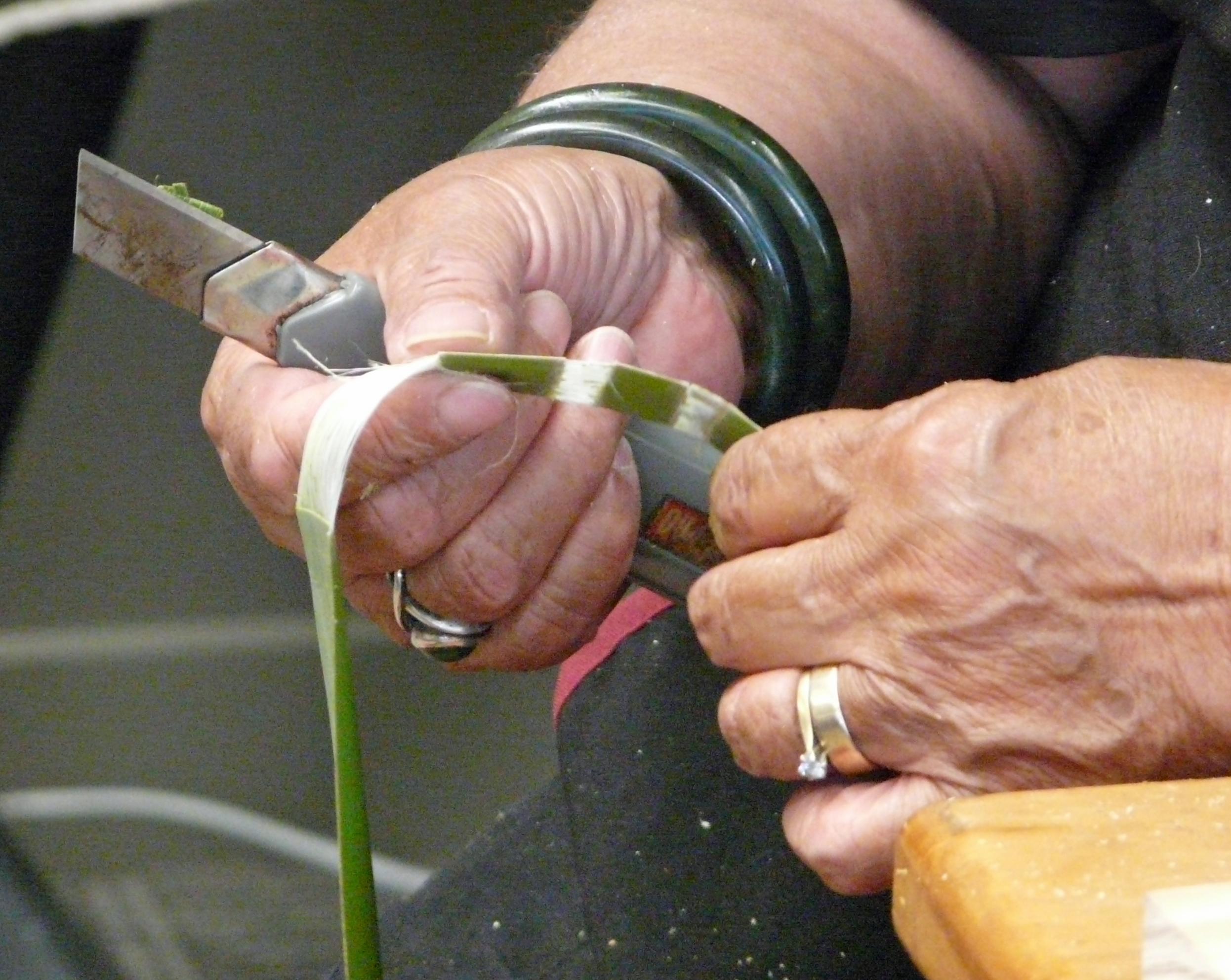 Māori weaving P1210928
