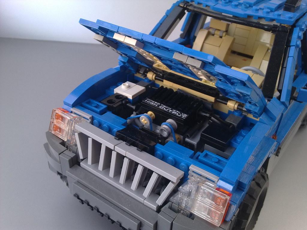 Jeep 4.7 Engine >> Jeep Grand Cherokee Powertech 4 7 L V8 Engine Detail Flickr