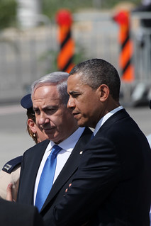 President Obama with PM Netanyahu | by Facts for a Better Future