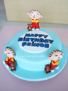 Super Stewie Family Guy Cake Visit My Blog At Thecakinggirl Flickr Personalised Birthday Cards Veneteletsinfo