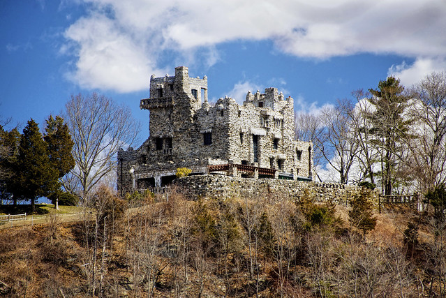 Gillette Castle view from ferry