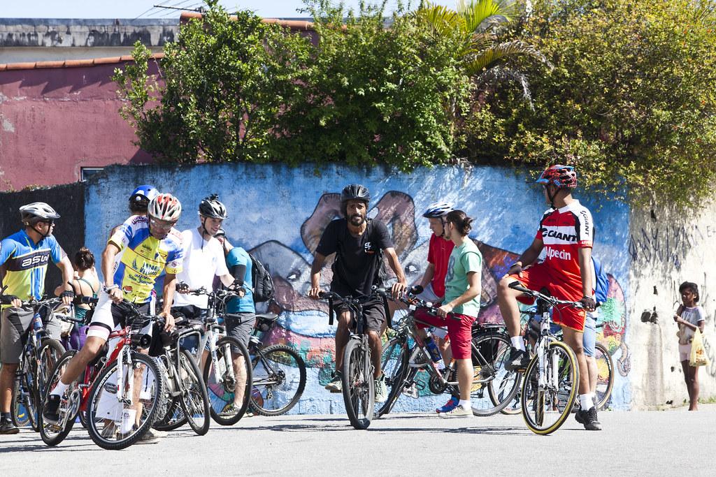 Rota Urbana-ambiental Bike Zona Sul e Imargem Foto: André Bueno
