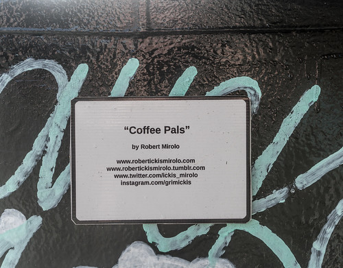 COFFEE PALS BY ROBERT MIROLO [DUBLIN CANVAS PAINT-A-BOX PROGRAMME]--119987 | by infomatique