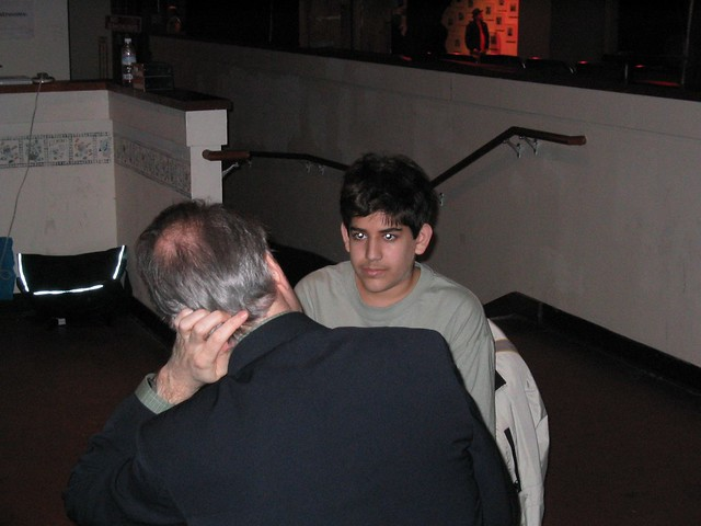 Aaron Swartz interviewed by Dan Gillmor at CC Launch – December 2002