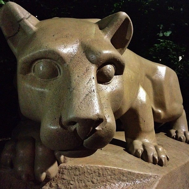 Penn State University Nittany Lion Shrine