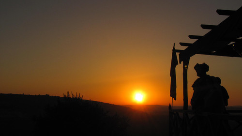 portugal tramonto medieval feira obidos alentejo festamedioevale