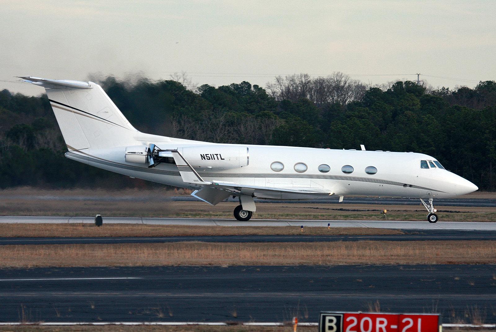 N511TL - Grumman Gulfstream IIB - KPDK - Jan 2013