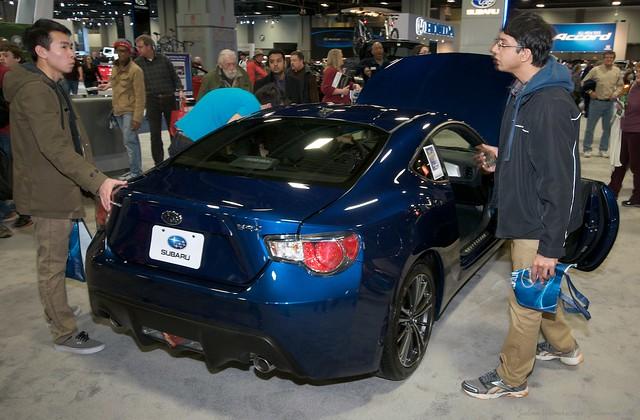 2013 Washington Auto Show - Lower Concourse - Subaru 4