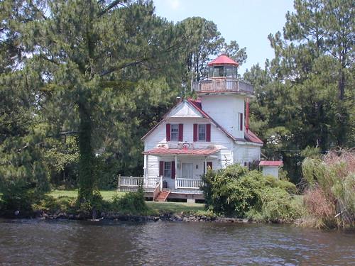 lighthouse river roanoke carolina