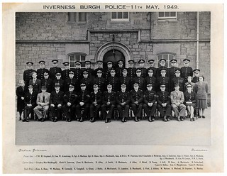 Inverness Burgh Police 11th May 1949 | by conner395