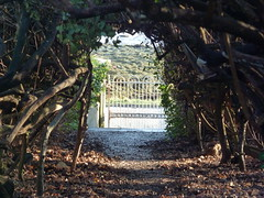 Entrance path to Canna House