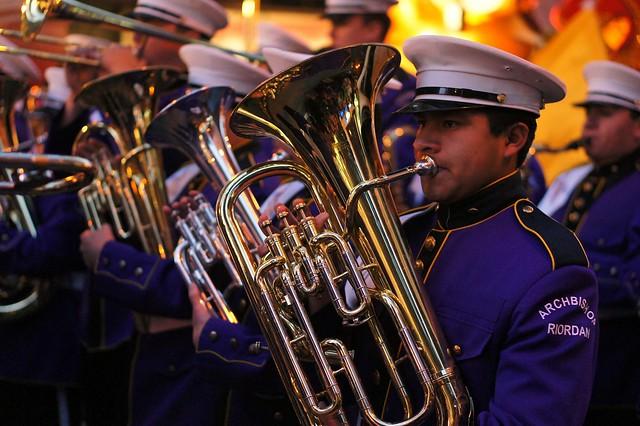 2013 Chinese New Year Parade 0016 - Riordan HS Marching Band