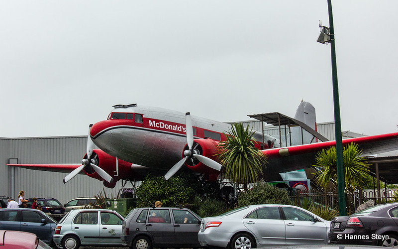 The McDonald's in Taupo