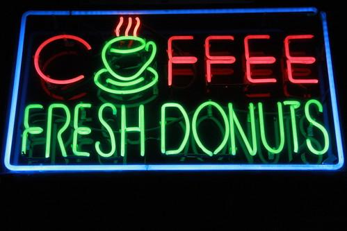 Coffe fresh donuts (2012), Hollywood. Los Angeles.   by Vidyā