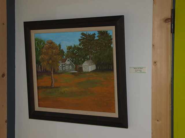 M3095466 Before the Fence by Babs Runyon acrylic