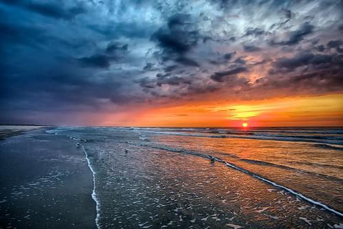 new beach water sunrise cloudy nj jersey avalon cloudsstormssunsetssunrises