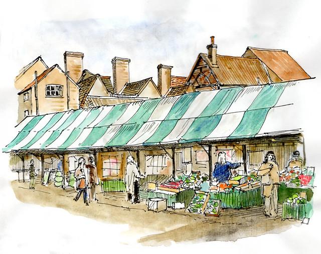 York Market in colour 27_03_2013