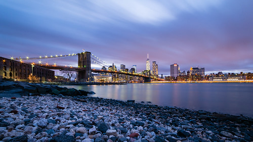 East River Blue Hour | by Maëlick