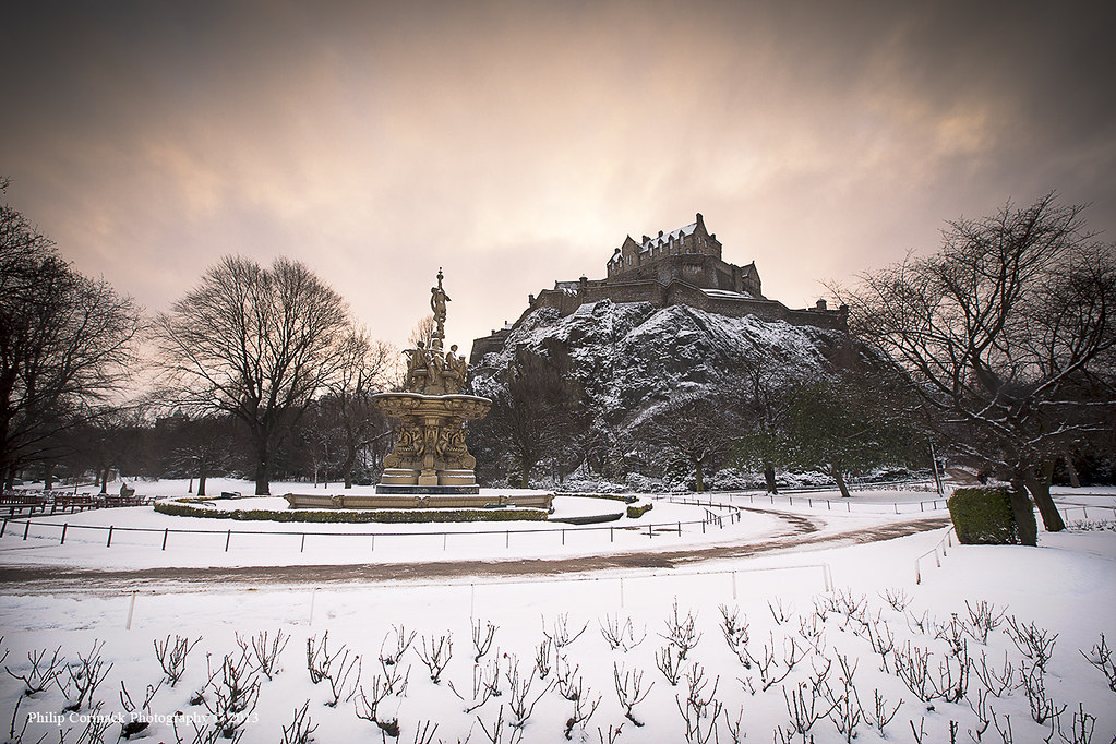 Edinburgh Castle at Sunrise