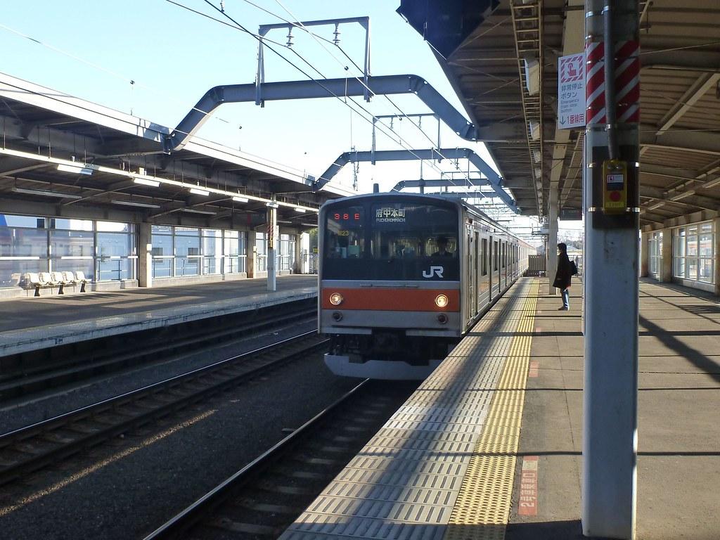Higashi-Matsudo Station, JR