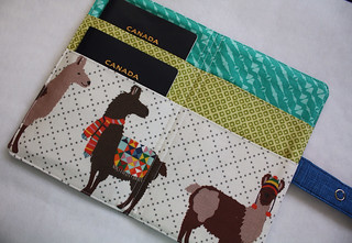 Lovely Llama Passport Wallet | by Everyday Fray