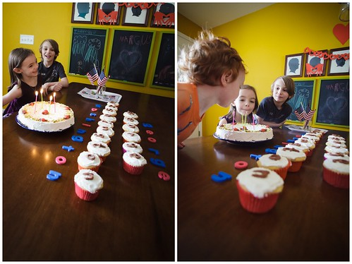 Singing Happy Birthday and blowing out the candles. | by Fluttering By