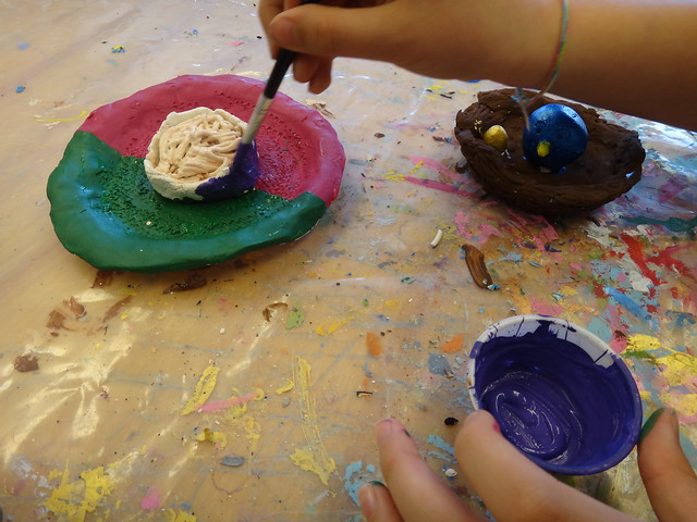 Paint Day at Clay Class