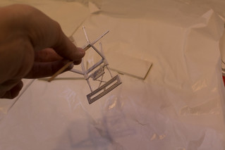 Gustavian miniature chairs - WIP | by vika-m