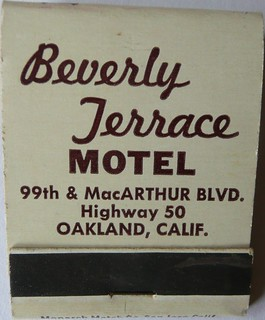 BEVERLY TERRACE MOTEL OAKLAND CALIF | by ussiwojima