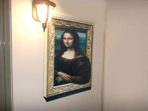 Mona Lisa | by 3D floor sticker - YeJun