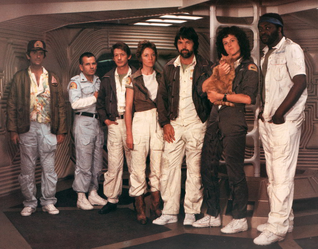 Image result for alien 1979 cast photo