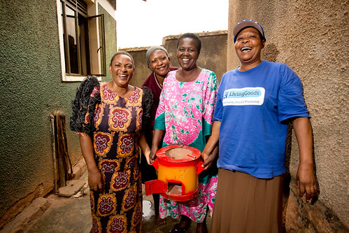 Improved cook stoves deliver health and financial benefits. | by Living Goods