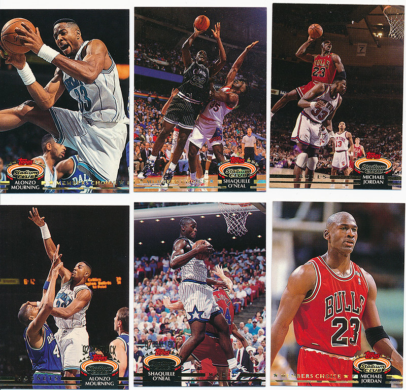 400 Card Set Of 1992 93 Topps Stadium Club Basketball Cards