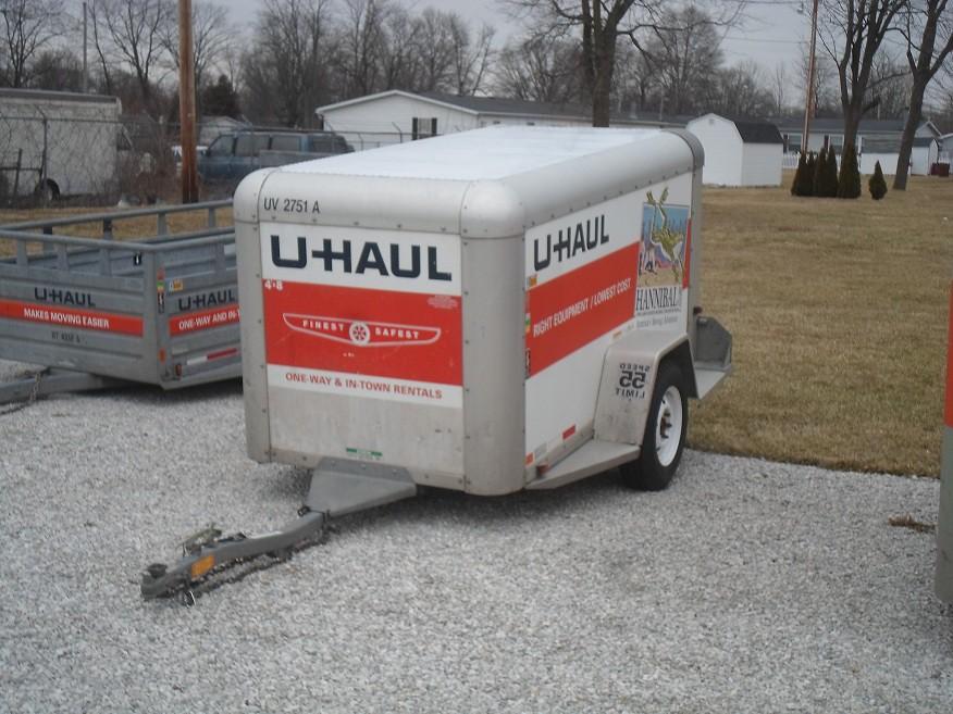 4X8 UHAUL Cargo Trailer | White Wolf | Flickr