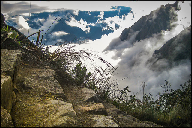 Watch your step - Inca Trail, Peru (Explored, thx!)