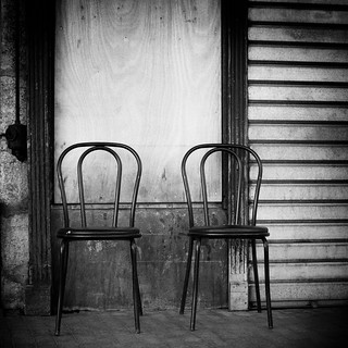 two chairs | by Thomas Leth-Olsen