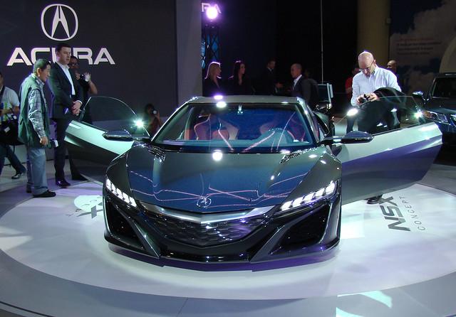 Acura NSX Concept at 2013 CIAS Toronto