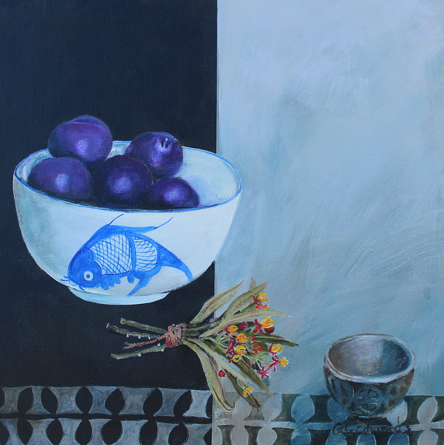 bowl of plums 2