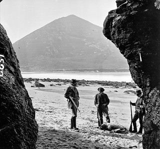 Shooting Seals On Achill Island Three Men Posing Around A Flickr